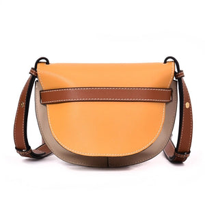 classy bag sling bag crossbody bag yellow bag edgability back view