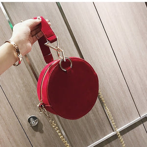 round bag sling bag red bag edgability size view