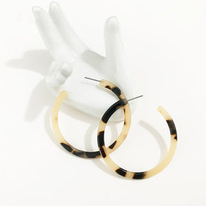 acetate earrings statement earrings edgability top view