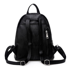 black backpack jacket backpack edgability back view