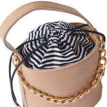 bucket bag classy bag edgability top view