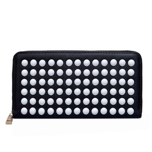 studded black wallet edgability