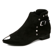 studded boots ankle boots edgability