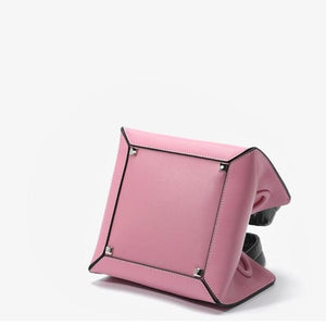 pink bag bucket bag mini bag sling bag edgability bottom view