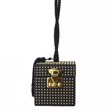 box bag studded bag wristlet edgy fashion classy bag edgability