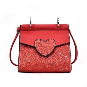 glitter bag red bag edgability