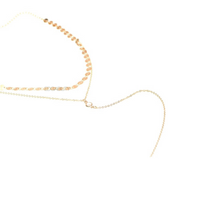 layered necklace gold choker edgability