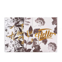 foliage printed golden foil notebooks set edgability