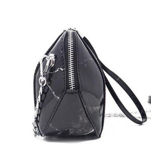 marble bag black bag sling bag edgability side view