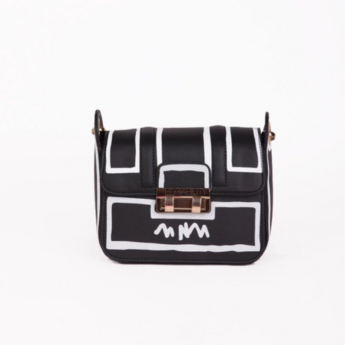white on black sketch bag edgability