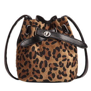 bucket bag drawstring bag leopard bag sling bag edgability