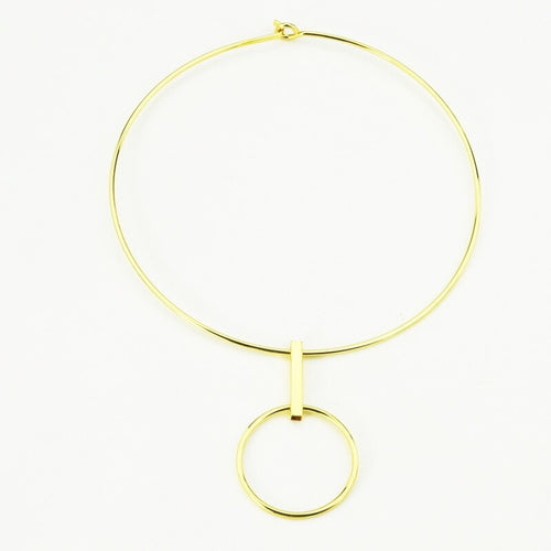 gold choker chic jewelry edgability