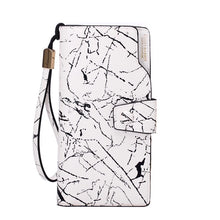 marble white wallet edgability