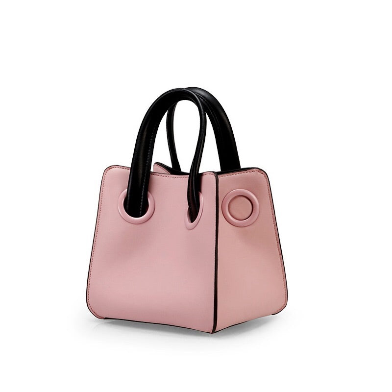 pink bag bucket bag mini bag sling bag edgability