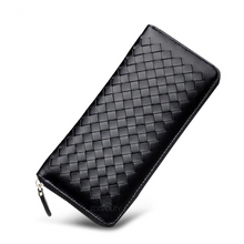 black wallet basket weave trendy wallet edgability