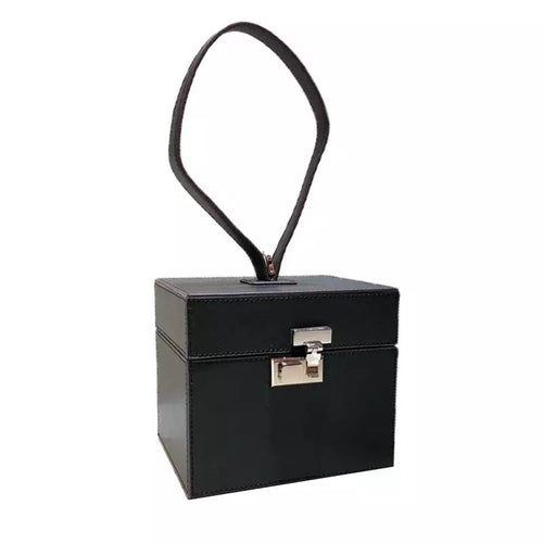 matte black box bag luxe edgy fashion edgability