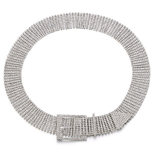 crystals belt trendy accessories edgability aerial view