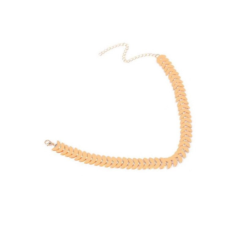 gold choker trendy jewellery edgability