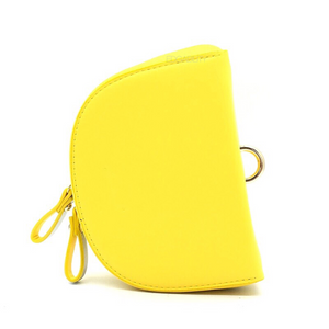 yellow sling bag and petals strap front view edgability