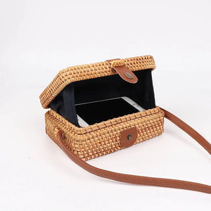 basket box bag clutch bag edgability open view