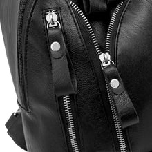 black backpack jacket backpack edgability detail view