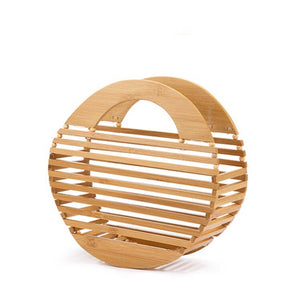 bamboo bag round bag box bag travel bag edgability