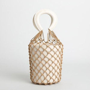 bucket bag basket drawstring bag edgability