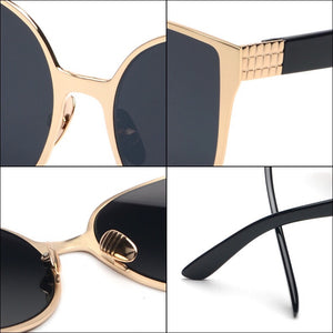 black sunglasses trendy sunglasses edgability detail view