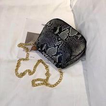 classy grey snakeskin black bag edgy fashion edgability top view