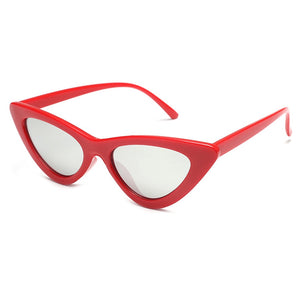 cat eye sunglasses red sunglasses edgability