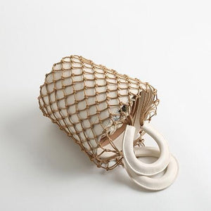 bucket bag basket drawstring bag edgability aerial view