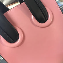 pink bag bucket bag mini bag sling bag edgability handle view
