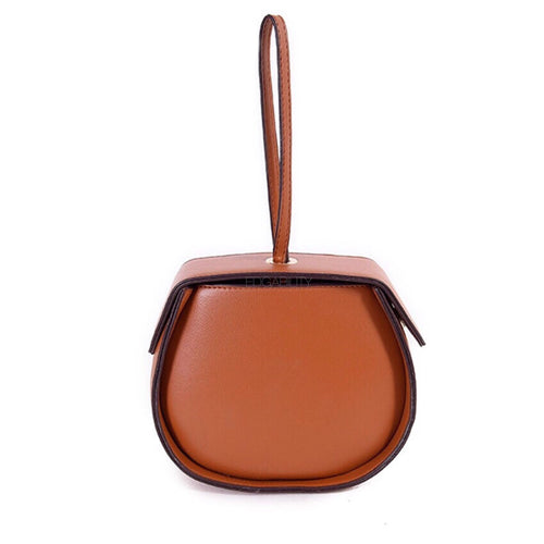 box bag brown bag classy bag wristlet edgability