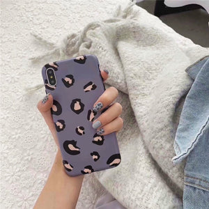 purple leopard iphone cover iphone case edgability size view