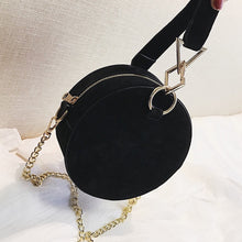 black bag round bag box bag sling bag edgability side view