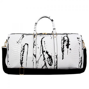 marble white travel bag edgability