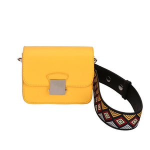 yellow purse online edgability front view