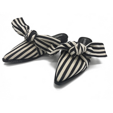 stripes mules trendy shoes edgability front view