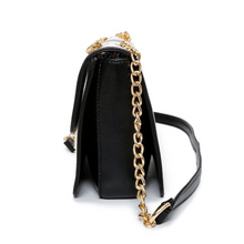 black and white bag classy bag edgability side view