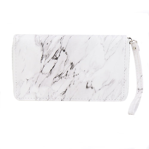marble design trendy wallet for women edgability