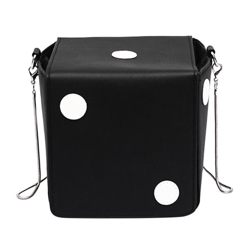 dice bag black bag box bag edgability