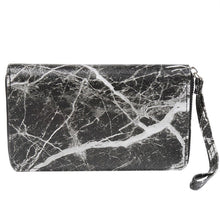 marble design trendy wallet black wallet edgability