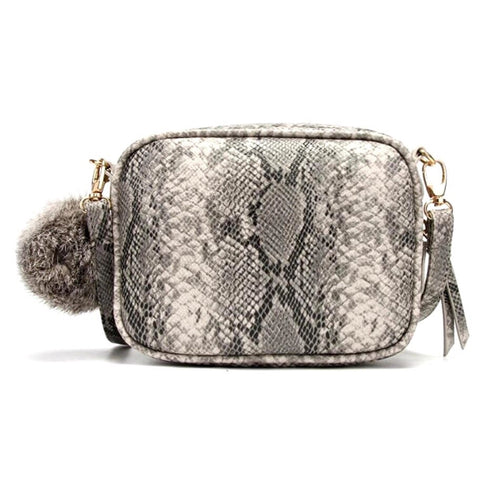 snakeskin bag sling bag crossbody bag edgability