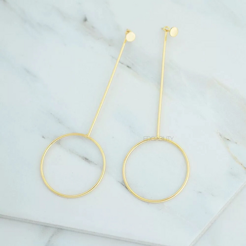 gold earrings drop earrings edgability