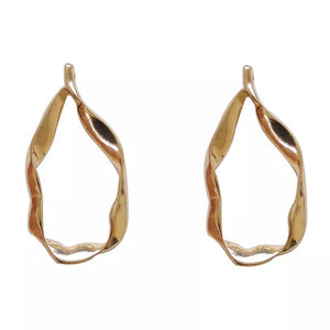 rose gold earrings chic jewelry edgability