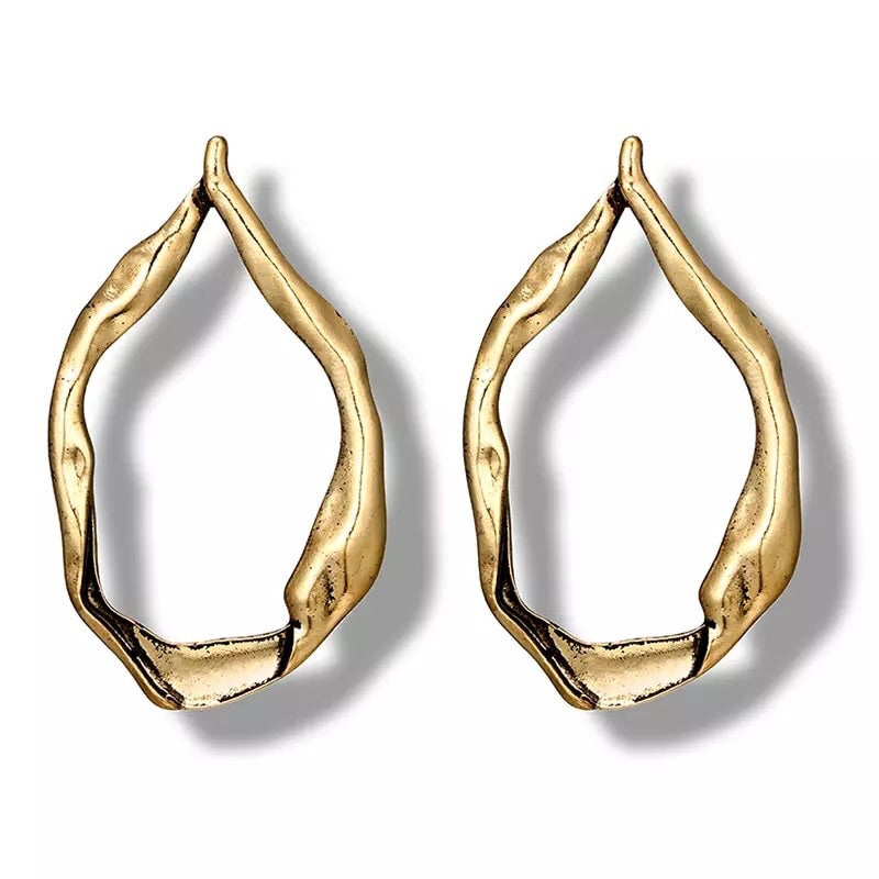 rose gold hoops earrings edgability