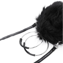 black bag fur bag round bag edgability detail view