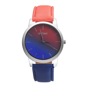 orange purple ombre watch edgability