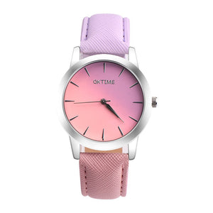 pink purple ombre watch edgability trendy watches