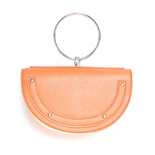 orange bag with hoop edgability